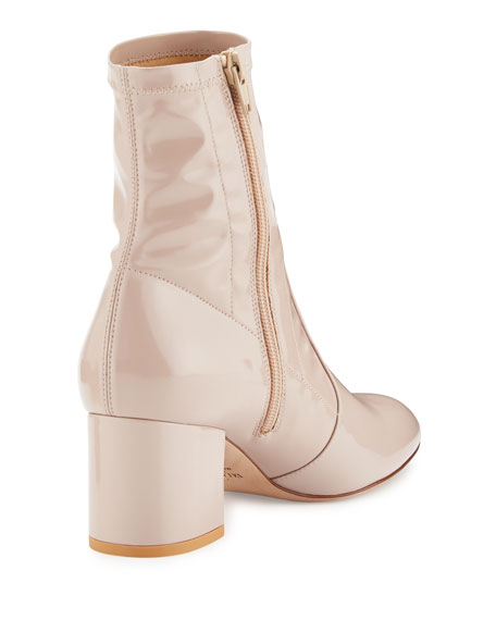 Stretch Patent 60mm Bootie, Poudre