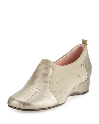 Kuss Demi-Wedge Sneaker, Quartz