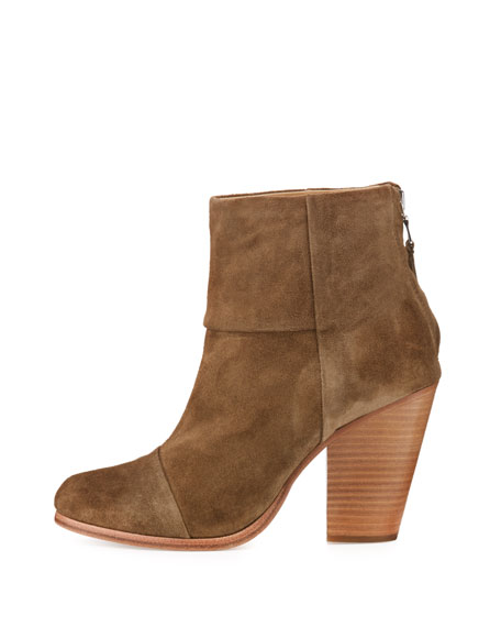 Classic Newbury Suede Ankle Boot, Mineral