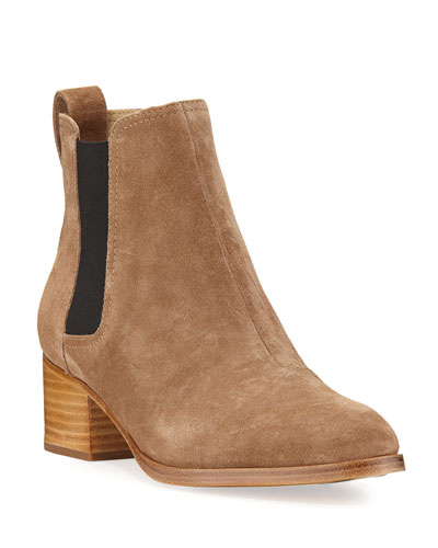 Walker Suede Chelsea Boot, Mineral