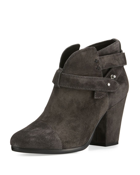 Harrow Suede Ankle Boot, Asphalt