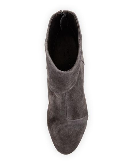 Classic Newbury Suede Ankle Boot, Asphalt