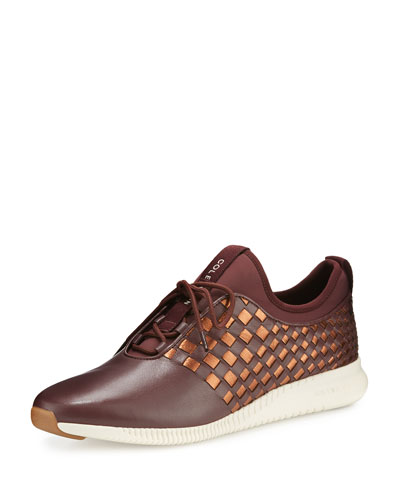 2.0 StudioGrand™ Woven Trainer, Berry