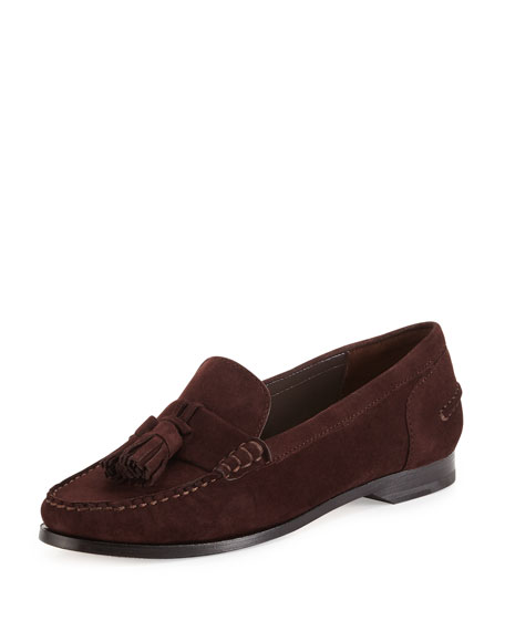 Cole Haan Pinch Grand Tassel Loafer, Chestnut