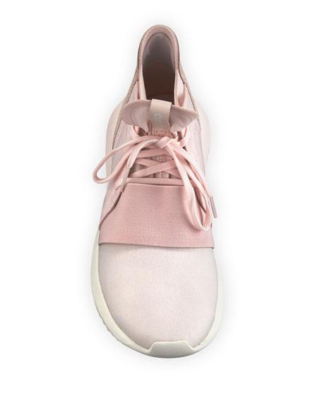 adidas pink tubular trainers