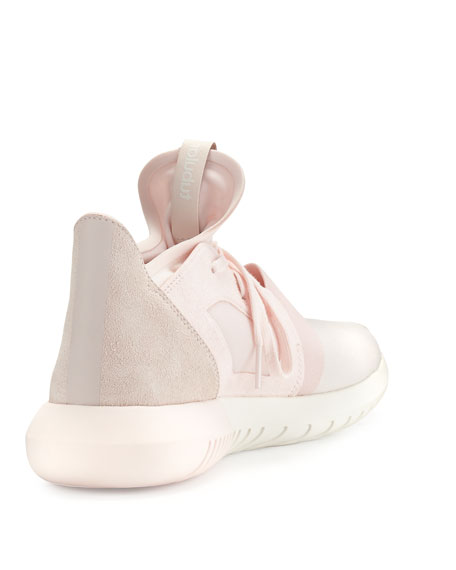 Adidas Tubular Defiant Shoes Halo Pink