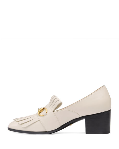 Polly Kiltie Leather 55mm Loafer
