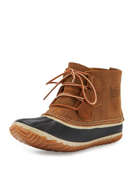 Out N About™ Leather Bootie, Tan