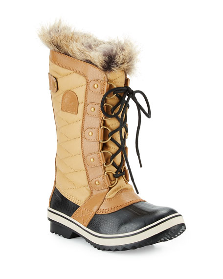 Sorel Tofino™ II Fur-Trim Quilted Boot, Curry