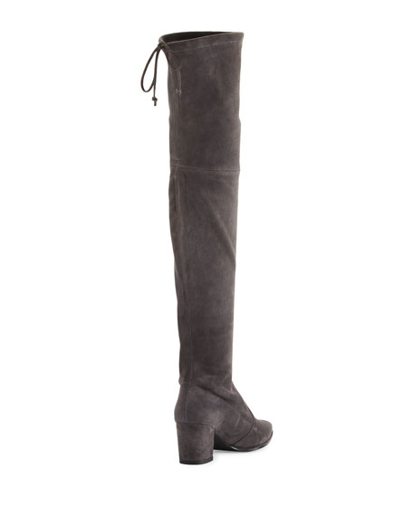 stuart weitzman thighland suede the knee boot slate