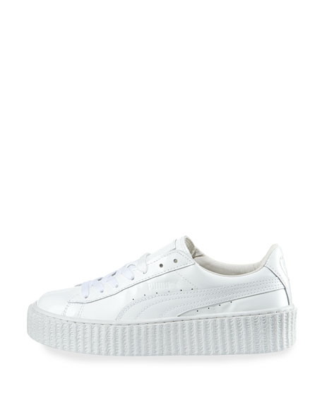 new concept ab1dd 4a7b7 Basket Patent Creeper White