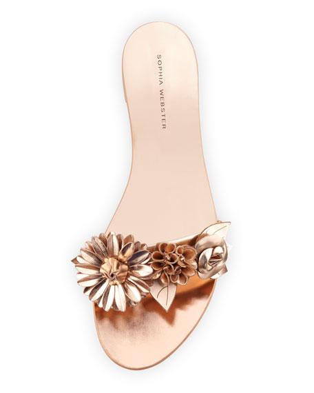 Lilico Floral Flat Slide Sandal