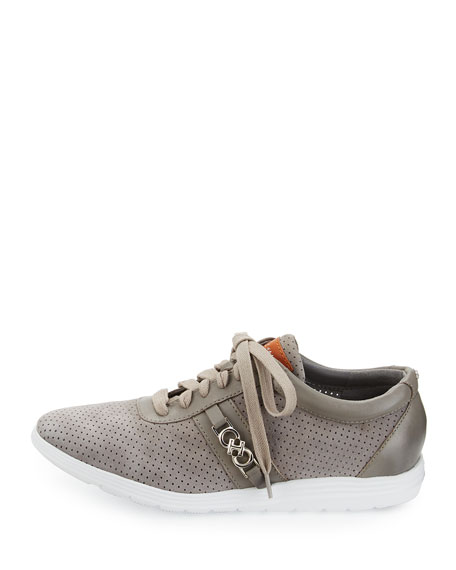 Bria Grand Sport Oxford Sneaker, Ironstone Gray