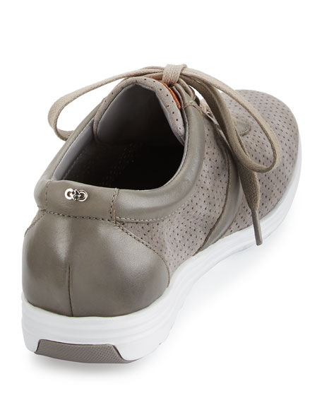 Bria Grand Sport Oxford Sneaker, Ironstone Gray