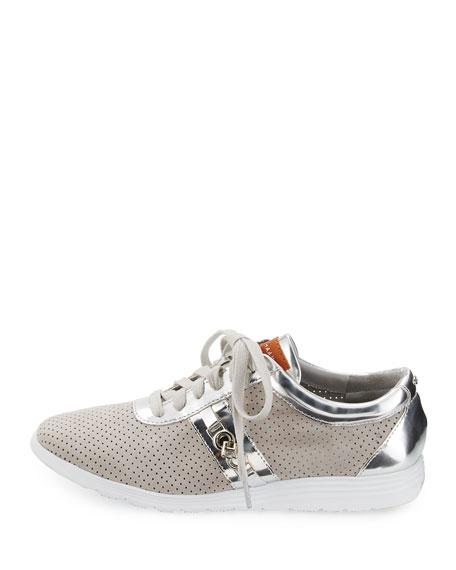 Bria Grand Sport Oxford Sneaker, Vapor Gray