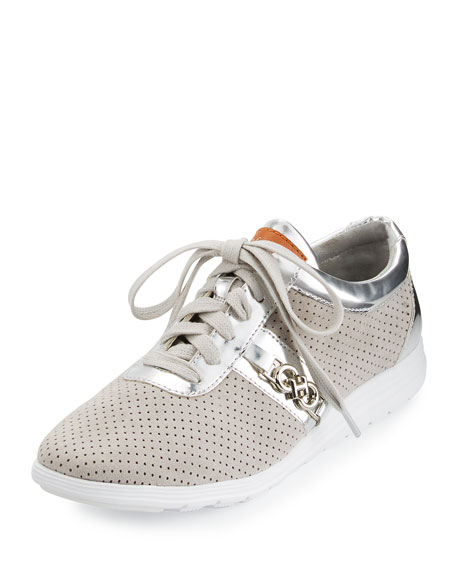 Bria Grand Sport Oxford Sneaker, Vapor Gray