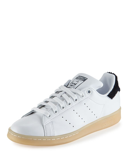 Adidas Stan Smith Winter Sneaker, White/Navy