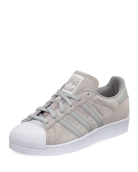 Adidas Superstar Original Suede Sneaker Clear Onyx