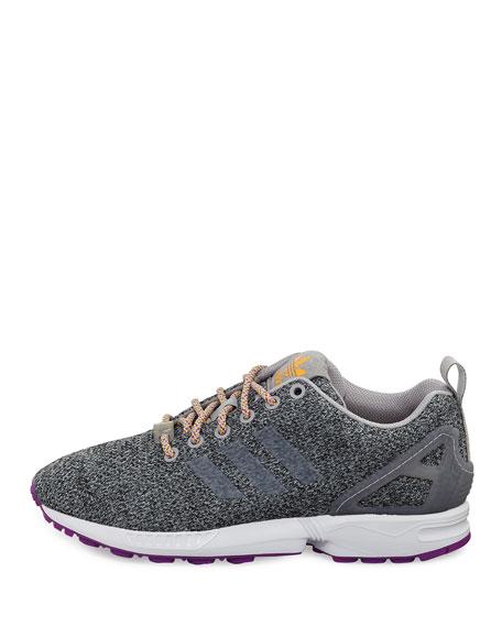 adidas zx flux rose et gris