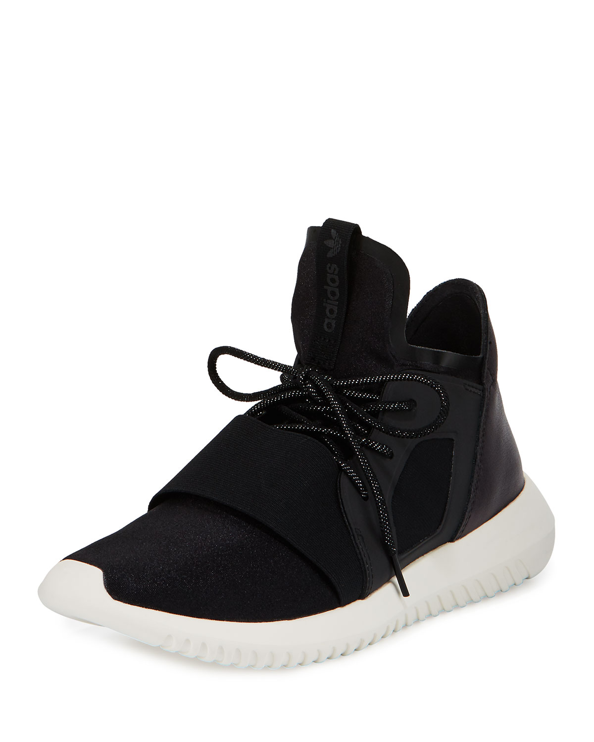 new product 41882 50a42 Tubular Defiant High-Top Sneaker, Core Black/White