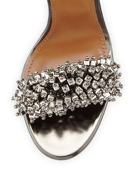 Monaco Beaded 105mm Sandal
