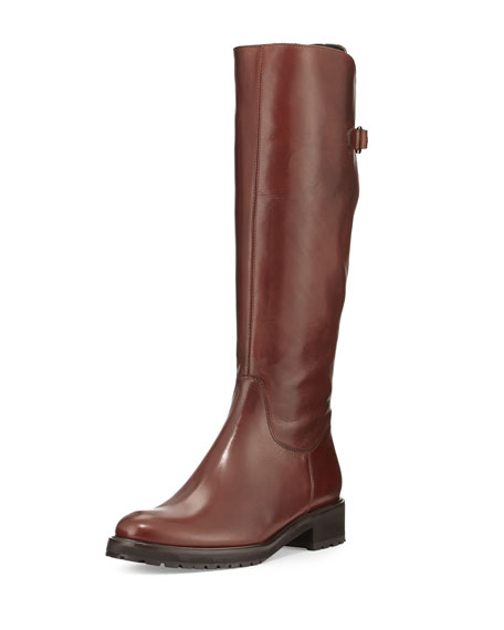 Sesto Meucci Wildee Adjustable Leather Knee Boot, Tizian