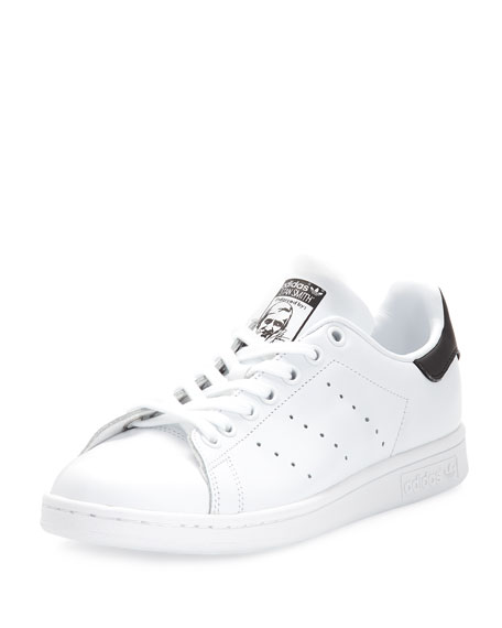 Adidas Stan Smith Fashion Sneaker, White/Core Black