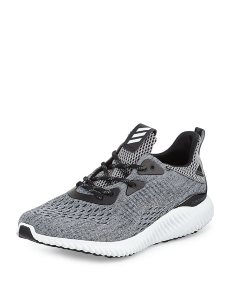 Adidas Alphabounce Engineered Mesh Sneaker, Core Black/Running