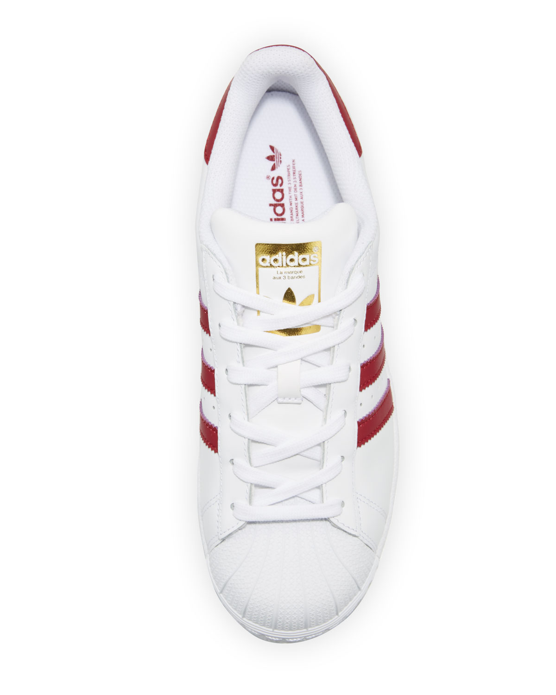 denmark adidas superstar womens trainers burgundy snake 58346 d0078   clearance adidas superstar original fashion sneaker white burgundy neiman  marcus f09d1 ... 3ea313844
