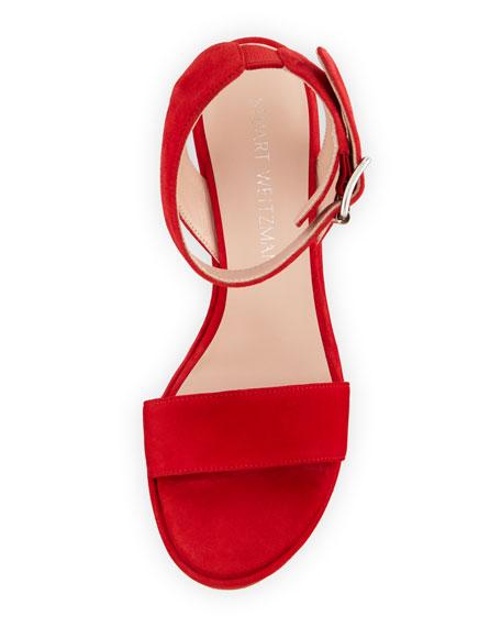 Truex Suede Wedge Sandal