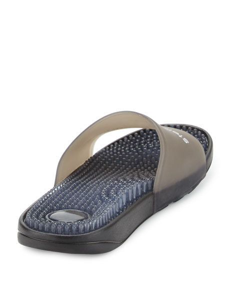 Recovery Molded Slide Sandal, Black