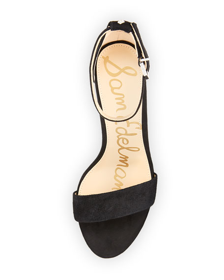 Yaro Suede Block-Heel Sandal