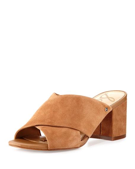 Stanley Suede Crisscross Sandal