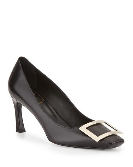 Belle Vivier Trompette Patent Leather Pumps Roger Vivier