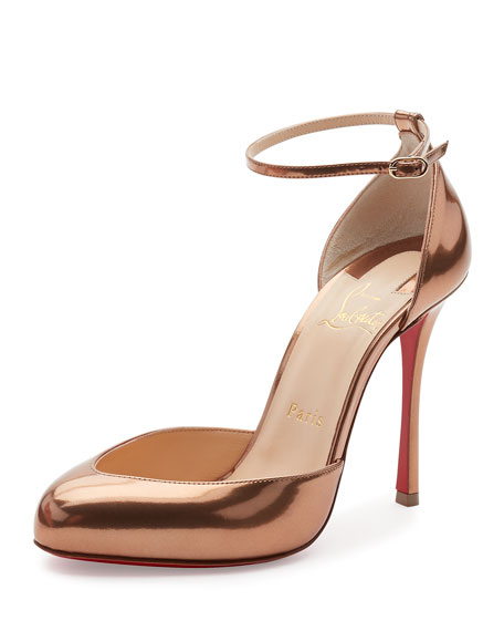 Christian Louboutin Dollyla Patent 100mm Red Sole Pump,