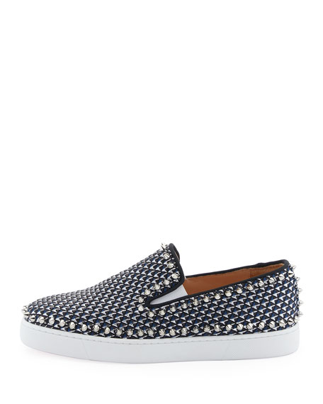Pik Boat Spike Canvas Sneaker