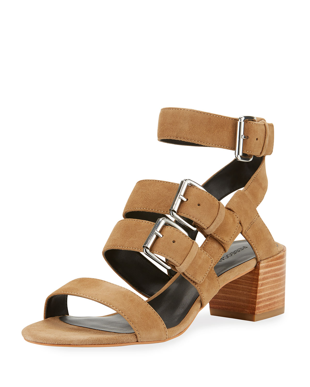 pick a best cheap online cheap many kinds of Rebecca Minkoff Suede Buckle Sandals jEkbqAh3w