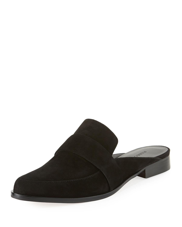 39c0ff7dbf1 Rebecca Minkoff Mika Suede Flat Loafer Mule