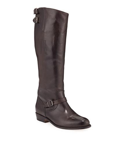 Dorado Tall Leather Riding Boots