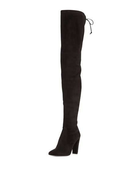 Stuart Weitzman Alllegs Ultrastretch Over-the-Knee Boot, Noir