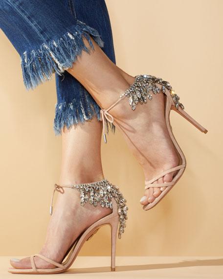 Eden Crystal-Embellished Sandal