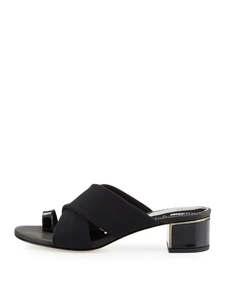 Toto Toe Ring Low-Heel Sandal