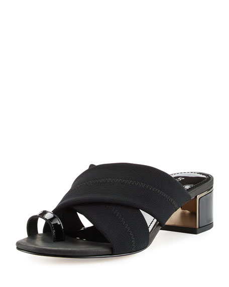 Toto Toe Ring Low-Heel Sandal