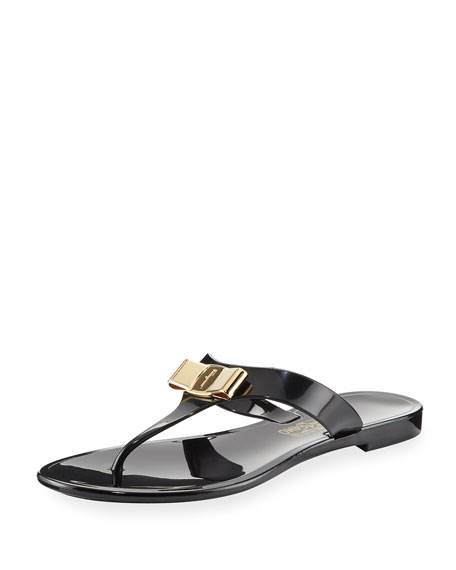 Salvatore Ferragamo Jelly Thong Sandals DHnt8Y