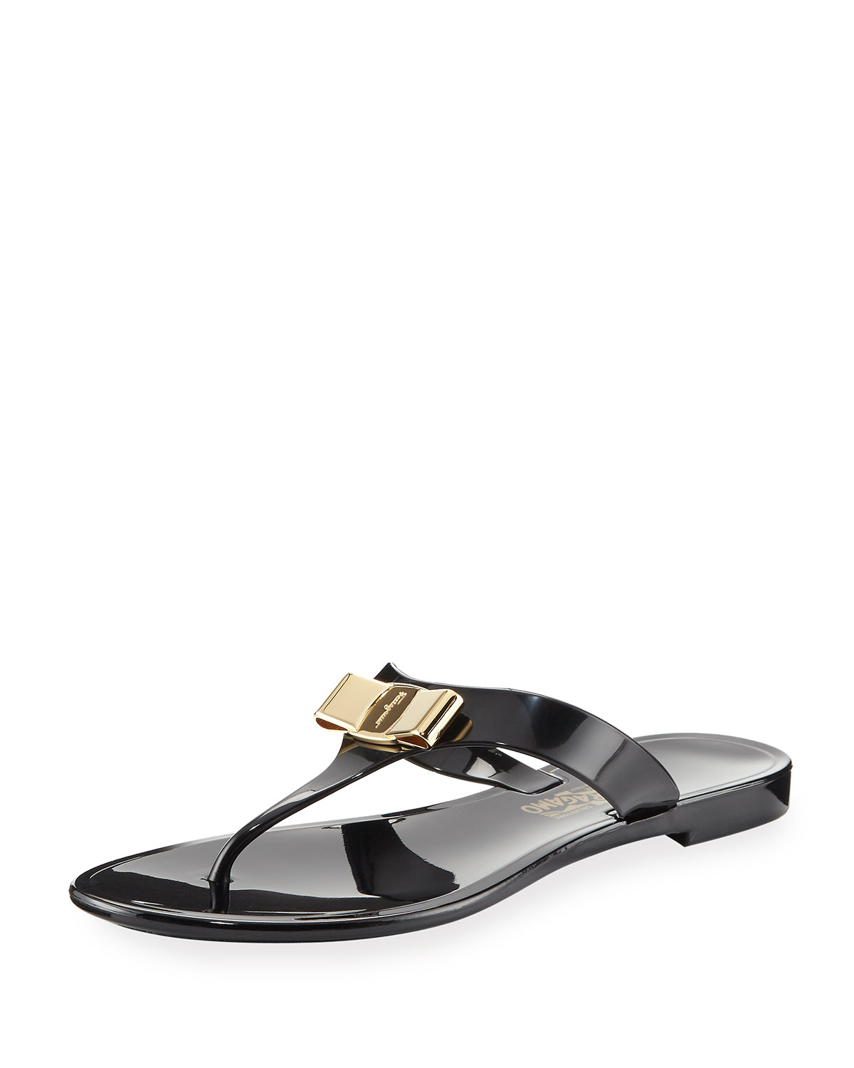 de8c348fd2b Salvatore Ferragamo Jelly City Flat Thong Sandal