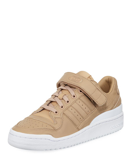 Adidas Forum Low-Top Trainer Sneaker, Nude