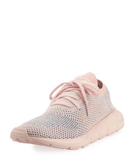Adidas Swift Run Pk Knit Trainer Sneaker, Light