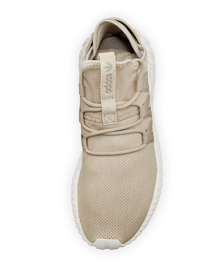 Tubular Dawn Knit Trainer, Light Brown