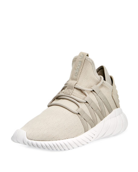 Adidas Tubular Dawn Knit Trainer, Light Brown