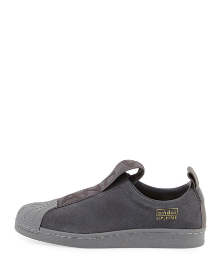 Superstar Slip-On Suede Sneaker, Gray